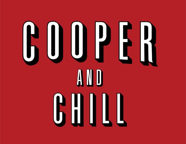 cooper and chill sticker